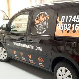 Vehicle graphics example